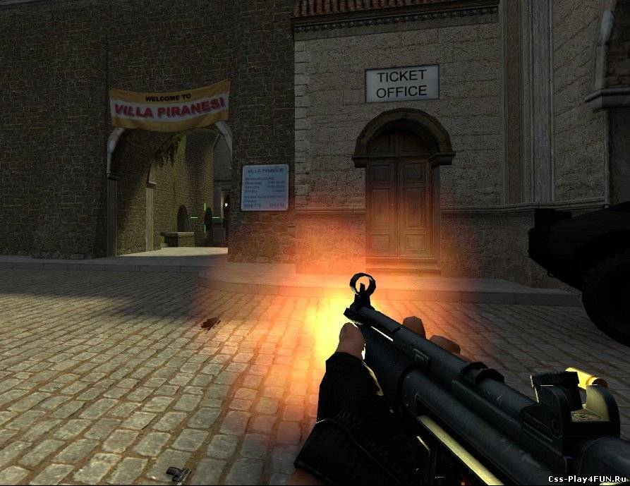 Выстрел Strelok muzzle flash для CS:S