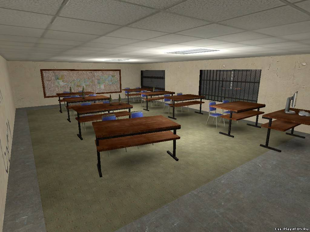 Карта ba_jail_school_V1 для CS:S