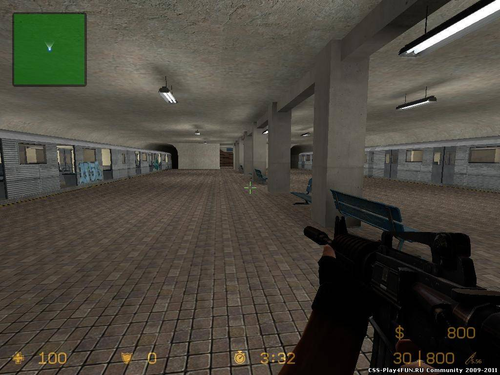 Карта ba_jail_metro для CS:S