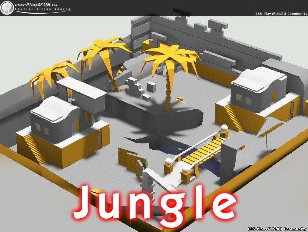 Супер карта aim_ag_texture_jungle