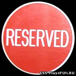 Reserved Slots - Version 1.5