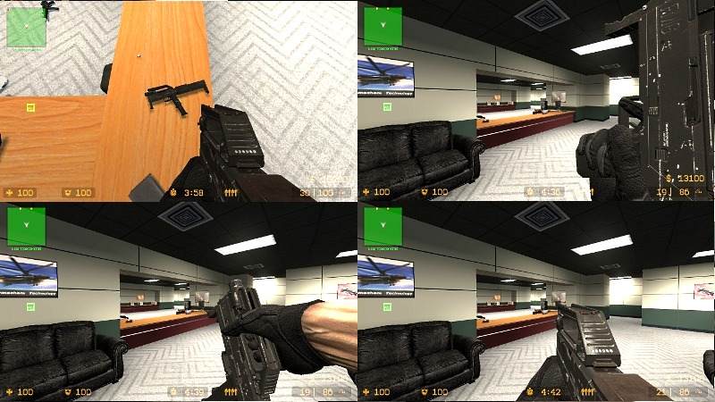 Модель MAC-10 из Call of Duty 8