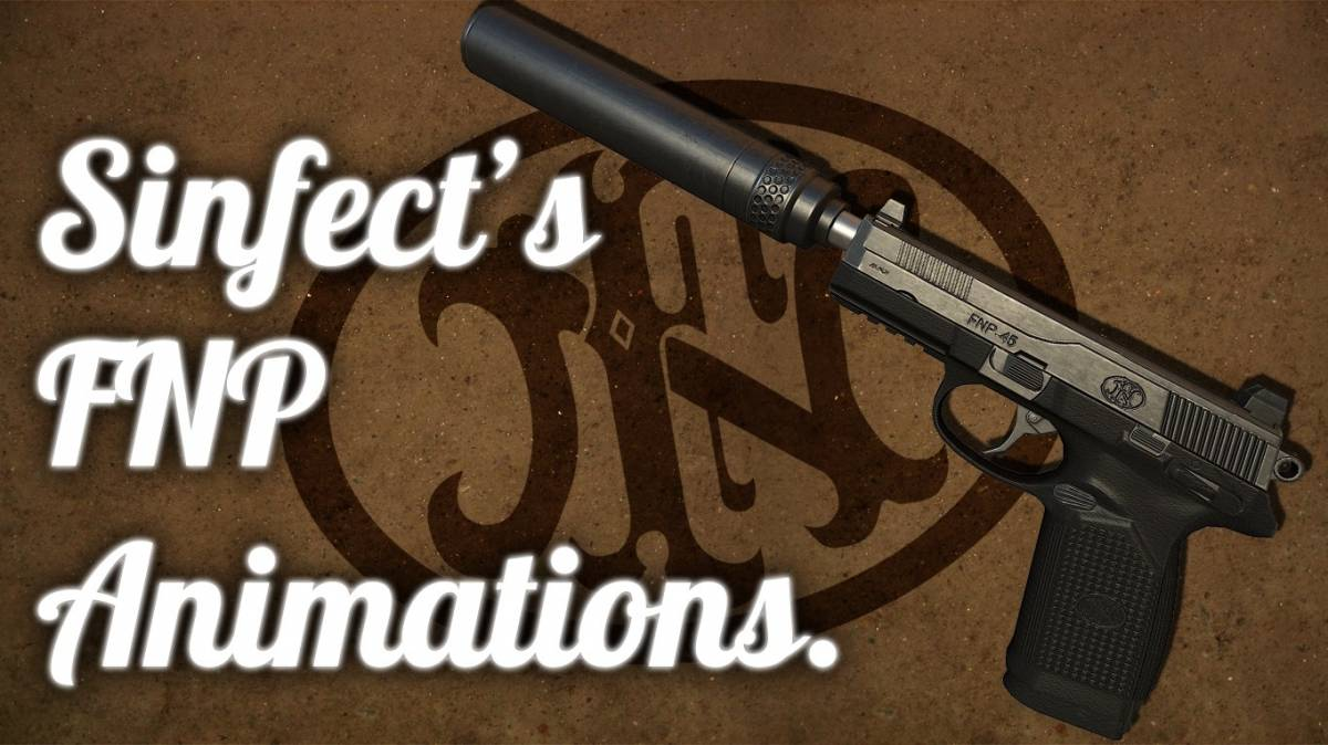 SIG P228 Sinfect's FNP 45 Animations