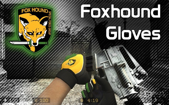Foxhound (Metal Gear Solid) Gloves