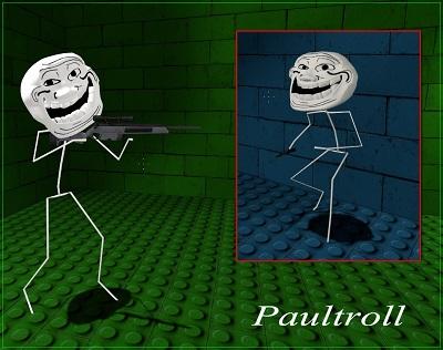 Скин для сервера Paultroll