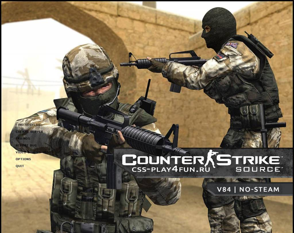 Counter Strike Source v84 | No-Steam | Torrent | 2016