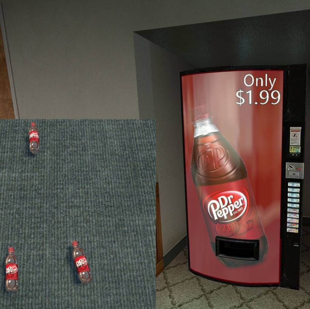 Dr. Pepper Vending Machine (Updated! New)