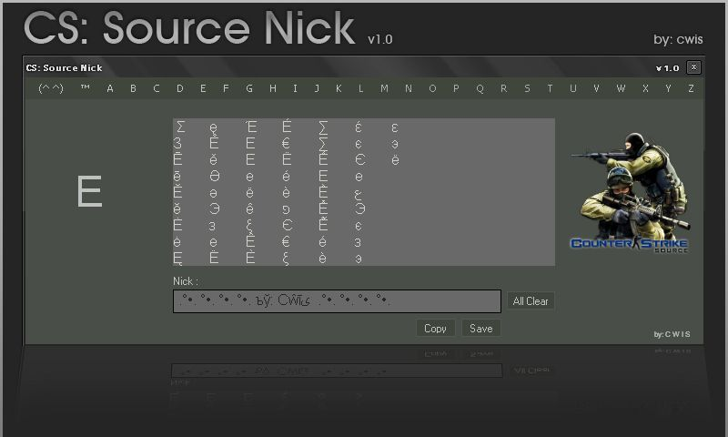 CS:Source Nick v1.0